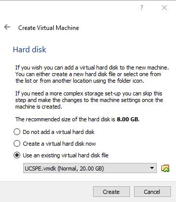 UCS Emulator on VirtualBox | FooBartn